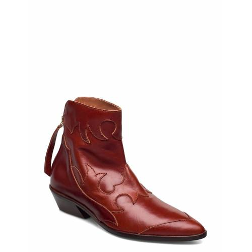 SHOE THE BEAR Stb-Miquita L Shoes Boots Ankle Boots Ankle Boot - Heel Rot SHOE THE BEAR Rot 40,39,37,38,41,36