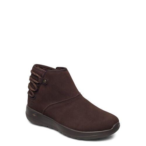 Skechers Womens On-The-Go Joy - Aglow Shoes Boots Ankle Boots Ankle Boot - Flat Braun SKECHERS Braun 37,36