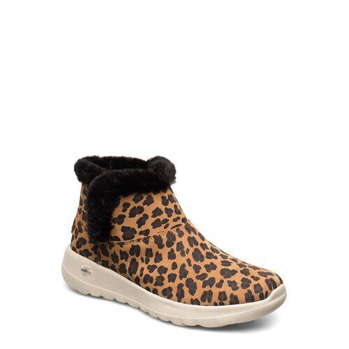 Skechers Womens On-The-Go Joy - Snow Kitty Shoes Boots Ankle Boots Ankle Boot - Flat Braun SKECHERS Braun 38,37.5