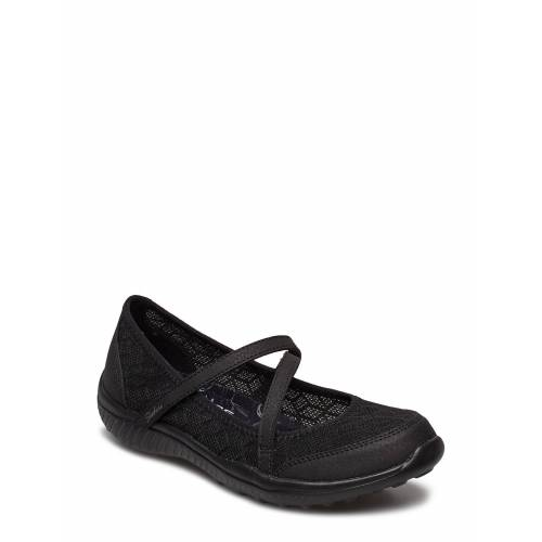 Skechers Womens Be-Light - Eyes On Me Ballerinas Ballerinaschuhe Schwarz SKECHERS Schwarz 39,38,41,37.5,37,39.5,40,38.5,36,36.5