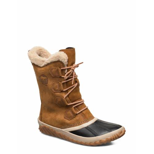 Sorel Out N About Plus Tall Shoes Boots Ankle Boots Ankle Boot - Flat Braun SOREL Braun 36,36.5