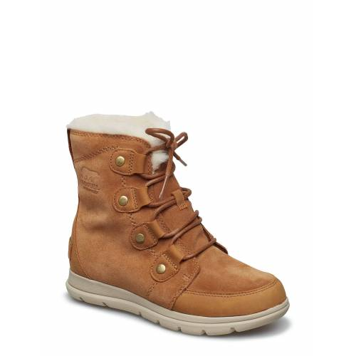 Sorel™ Explorer Joan Shoes Boots Ankle Boots Ankle Boot - Flat Braun SOREL Braun 37,36