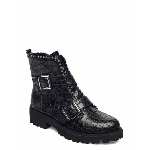 Steve Madden Hoofy Shoes Boots Ankle Boots Ankle Boot - Flat Schwarz STEVE MADDEN Schwarz 38,39,37,40,36,41