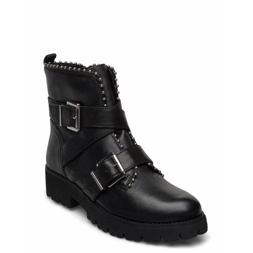 Steve Madden Hoofy Shoes Boots Ankle Boots Ankle Boot - Flat Schwarz STEVE MADDEN Schwarz 38,37,41,36