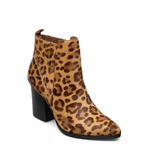 Steve Madden Justina Bootie Shoes Boots Ankle Boots Ankle Boot - Heel Braun STEVE MADDEN Braun 38,39,40,37,36,41