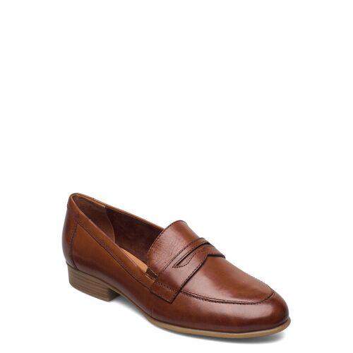 tamaris Woms Slip-On Loafers Flache Schuhe Braun TAMARIS Braun 38,39,40,37,41,36,42