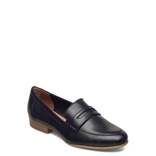 tamaris Woms Slip-On Loafers Flache Schuhe Blau TAMARIS Blau 39,38,40,37,41,36,42