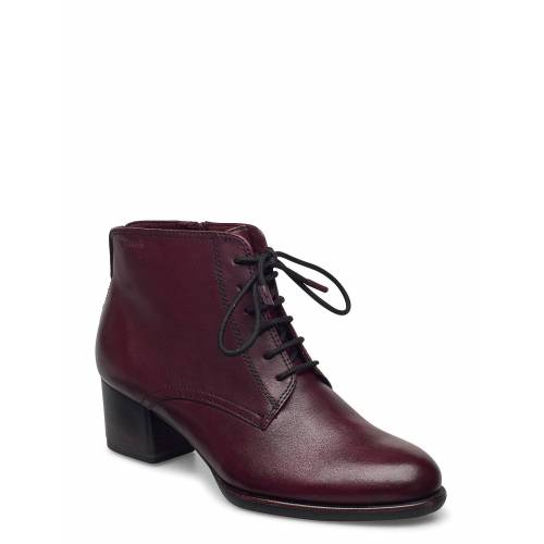 tamaris Woms Boots Shoes Boots Ankle Boots Ankle Boot - Heel Rot TAMARIS Rot 38,40,41,39,37,36,42