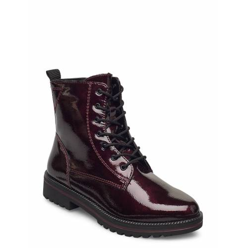 tamaris Woms Boots Shoes Boots Ankle Boots Ankle Boot - Flat Rot TAMARIS Rot 39,37