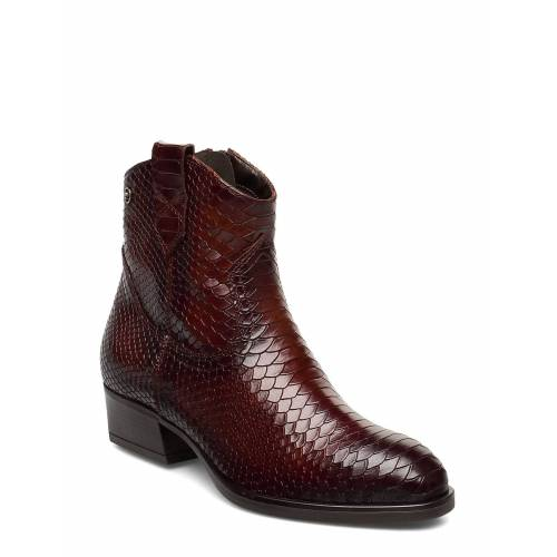 tamaris Woms Boots Shoes Boots Ankle Boots Ankle Boot - Heel Rot TAMARIS Rot 39,38,40,37,41,36