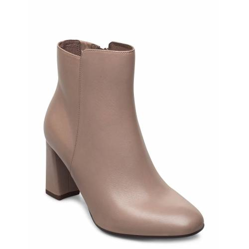 TAMARIS HEART & SOLE Woms Boots Shoes Boots Ankle Boots Ankle Boot - Heel Creme TAMARIS HEART & SOLE Creme 38,39,37,40,36,41,35