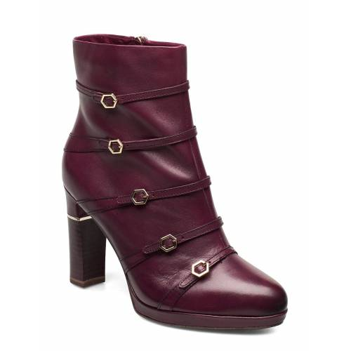 TAMARIS HEART & SOLE Woms Boots Shoes Boots Ankle Boots Ankle Boot - Heel Lila TAMARIS HEART & SOLE Lila