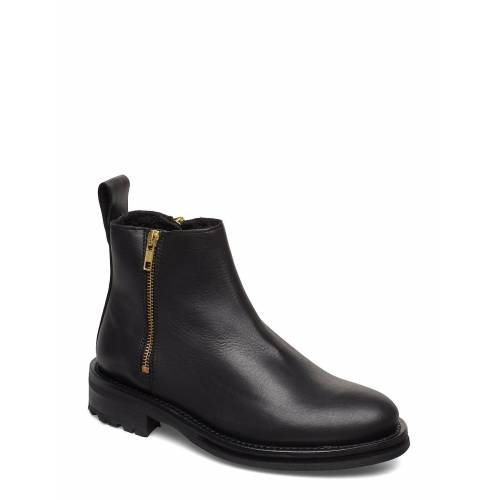 Tiger Of Sweden Bonnt Shoes Boots Ankle Boots Ankle Boot - Flat Schwarz TIGER OF SWEDEN Schwarz 36