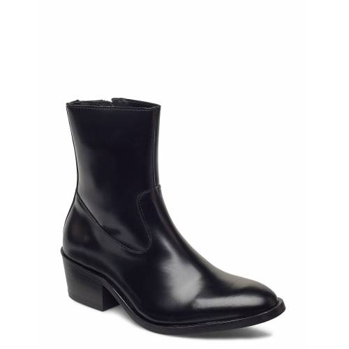 Tiger Of Sweden Cadria Shoes Boots Ankle Boots Ankle Boot - Heel Schwarz TIGER OF SWEDEN Schwarz 37,36