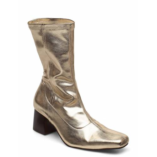 Tiger Of Sweden Callide Shoes Boots Ankle Boots Ankle Boot - Heel Gold TIGER OF SWEDEN Gold 39,37,35,36