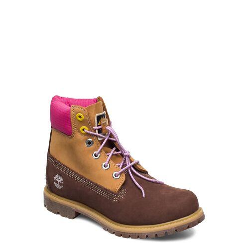 Timberland 6 Prem Boot F/L Dk Brn Shoes Boots Ankle Boots Ankle Boot - Flat Braun TIMBERLAND Braun 38,39,38.5,41,39.5,37.5,41.5,40,37