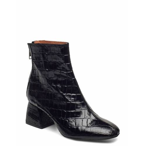 TWIST & TANGO Madrid Boots Shoes Boots Ankle Boots Ankle Boot - Heel Schwarz TWIST & TANGO Schwarz 38,36,40,39,37