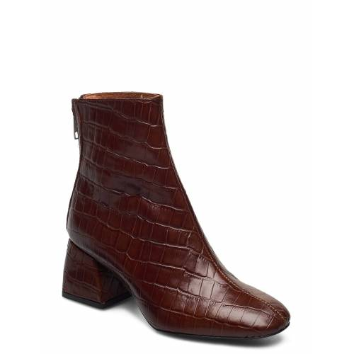 TWIST & TANGO Madrid Boots Shoes Boots Ankle Boots Ankle Boot - Heel Braun TWIST & TANGO Braun 38,39,37,36