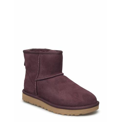 Ugg W Classic Mini Ii Shoes Boots Ankle Boots Ankle Boot - Flat Lila UGG Lila