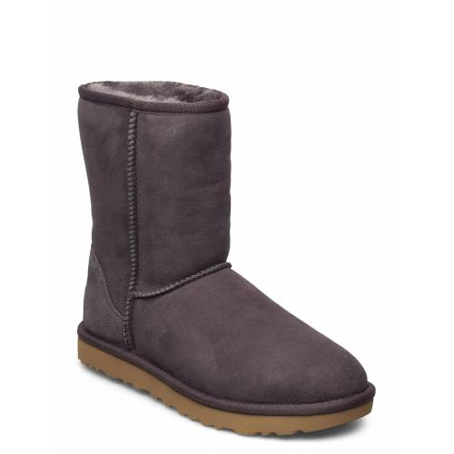 Ugg W Classic Short Ii Shoes Boots Ankle Boots Ankle Boot - Flat Grau UGG Grau 38,39,36