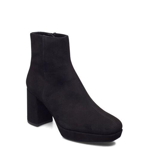 Unisa Mingo_ks Shoes Boots Ankle Boots Ankle Boot - Heel Schwarz UNISA Schwarz 39,38,37,41,35