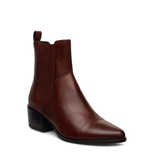 Vagabond Marja Shoes Boots Ankle Boots Ankle Boot - Heel Braun VAGABOND Braun 36