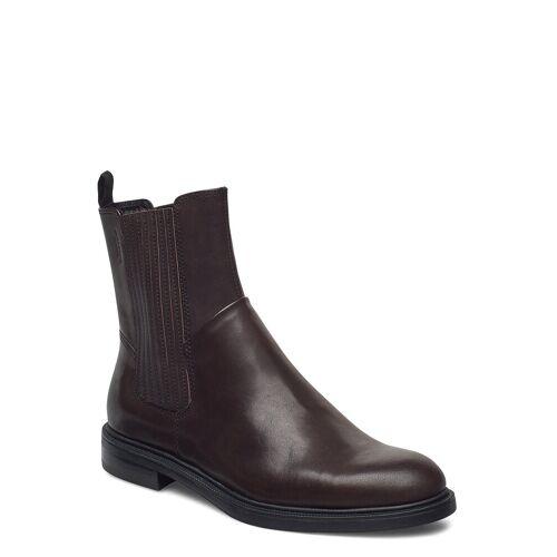 Vagabond Amina Shoes Boots Ankle Boots Ankle Boot - Flat Braun VAGABOND Braun 36