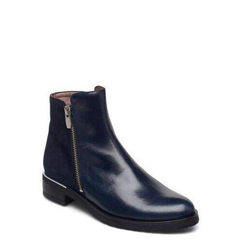 WONDERS C-5402 Shoes Boots Ankle Boots Ankle Boot - Flat Blau WONDERS Blau 37
