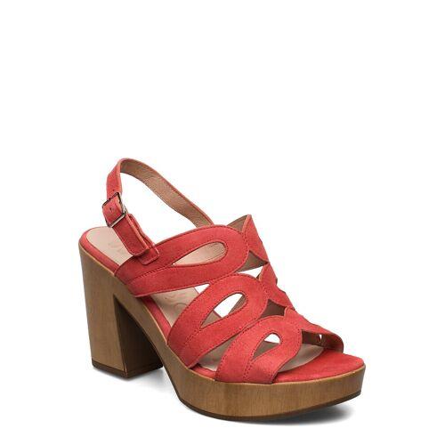 WONDERS L-9161 Sandale Mit Absatz Rot WONDERS Rot 38,40,37,41,36,42