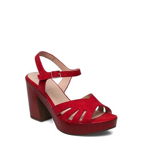 WONDERS L-9163 Sandale Mit Absatz Rot WONDERS Rot 40,38,36