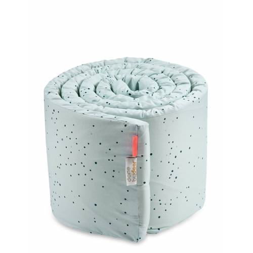 DONE BY DEER Bed Bumper Dreamy Dots Home Sleep Time Bed Bumper Blau D BY DEER Blau ONE SIZE