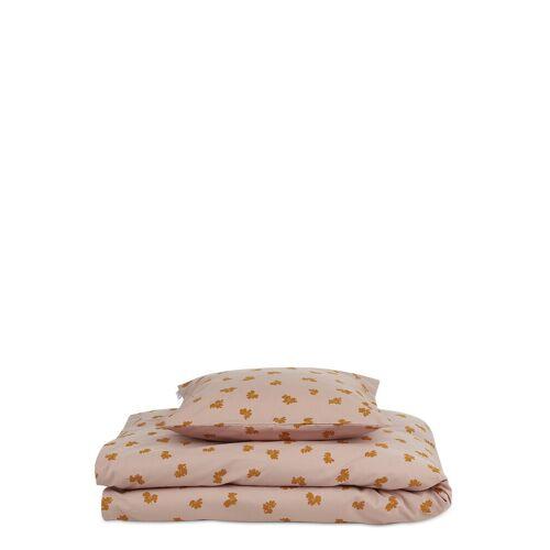 LIEWOOD Ingeborg Junior Bedding Print Home Sleep Time Bedding & Sheets Pink LIEWOOD Pink ONE SIZE