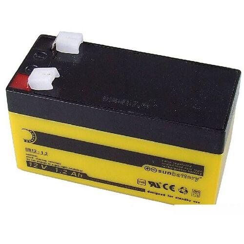 VdS Akkumulator 12 V, 1,2 Ah - BT2012
