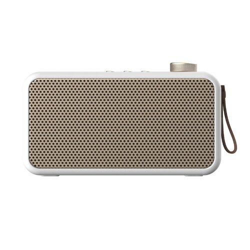KREAFUNK aTune Radio und Bluetooth-Lautsprecher - white - 7 x 19,5 x 11 cm