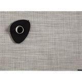 Chilewich Basketweave Platzset 4er-Set - White/Silver - 4 Stück à 36x48 cm