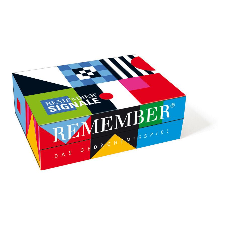 Remember 44 Signale Gedächtnisspiel - bunt - 22 x 16 x 8 cm