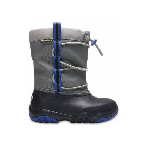 Crocs  Moonboots Crocs™ Swiftwater Waterproof Boot Kid's 35;33 1/2