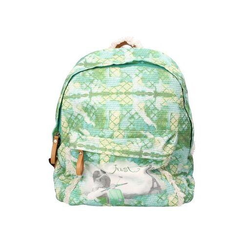 Just One  Rucksack rucksack grün segeltuch Einheitsgrösse