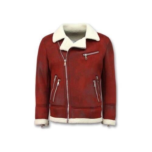 Tony Backer  Lederjacken Shearling Jacke Lammfell Lammy Coat EU S;EU M;EU L;EU XL
