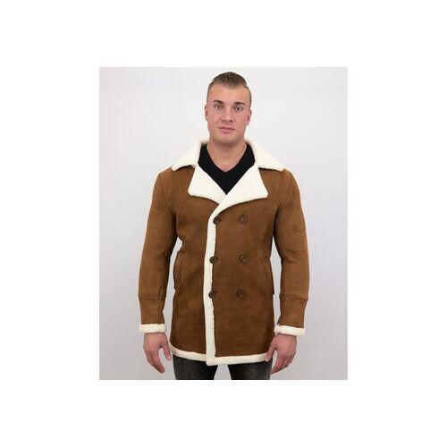 Tony Backer  Herrenmantel Shearling Jacke Lammfell Lammy Coat EU S;EU M;EU L