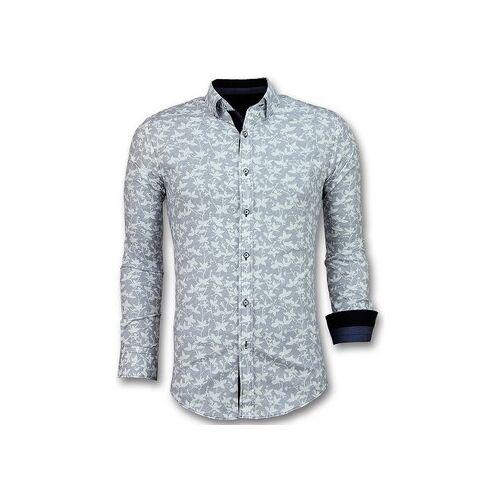 Tony Backer  Hemdbluse Schöne Shirt Mit Blumuster EU XXL;EU S;EU M;EU L;EU XL;EU 3XL