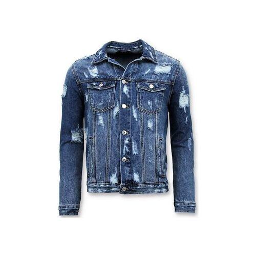 Enos  Jeansjacken Denim Jacket Zerrissene Denim EU XXL;EU S;EU M;EU L;EU XL