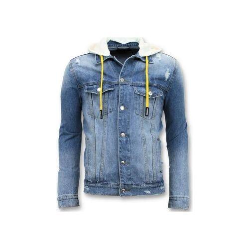 Enos  Jeansjacken Denim Jacket Zerrissene Mit Kapuze EU XXL;EU S;EU M;EU L;EU XL