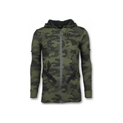 Enos  Sweatshirt Lässige Sweatjacke Long Camouflage Weste EU XXL;EU S;EU M;EU L;EU XL