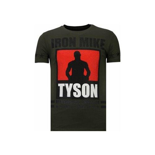 Local Fanatic  T-Shirt Iron Mike Tyson Strass EU XXL;EU S;EU M;EU L;EU XL