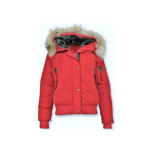 Gentile Bellini  Damen-Jacke Winterjacke Mit Fell Da Kurze Jacke EU S;EU M;EU L;EU XL