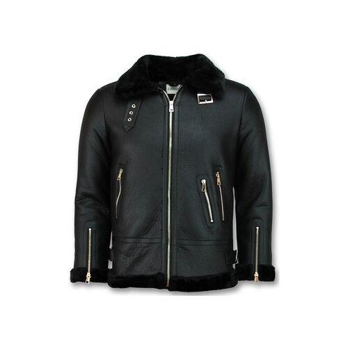 Z Design  Lederjacken Shearling Jacket Da Lammy Coat EU XXL;EU S;EU M;EU L;EU XL