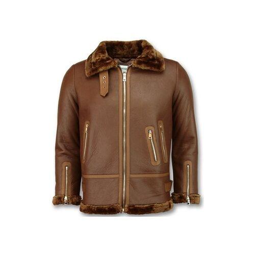 Z Design  Lederjacken Lammy Coat Shearling Jacket Da EU XXL;EU S;EU M;EU L;EU XL