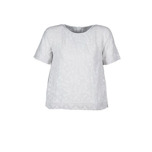 Manoush  T-Shirt COTONNADE SMOCKEE DE 32;DE 36