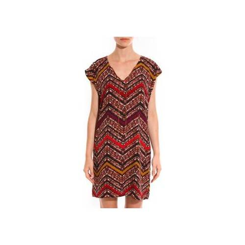 Davis  Kleid Robe Savane Rouge EU L / XL